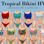 Ana Sims: Tropical Bikini HW