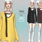 Helsoseira's HALO – Sweater Dress