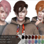 [Busenur41] Anto – Echo (Hair) Recolor – Mesh needed